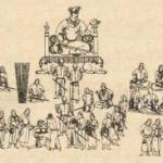 Una tipica festa cinese tra le pitture del VII secolo d.C. di Afrasyab (Samarcanda)