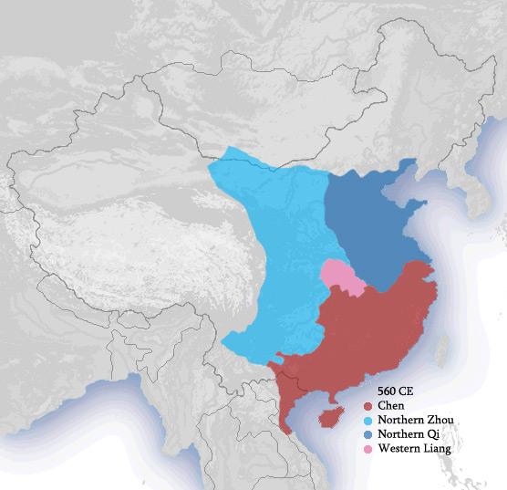 dinastie del sud