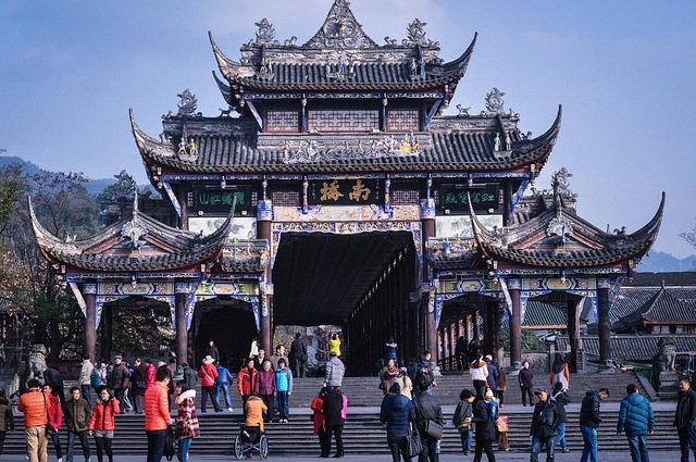 Sichuan tempio