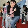 gare di bacio in Cina