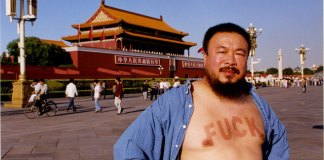 Il fuck di Ai Weiwei