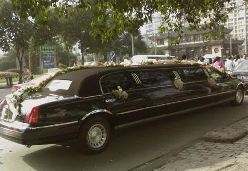 limousine-sposa