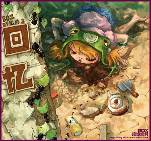 023-frog-boxtree illustrazioni di rane