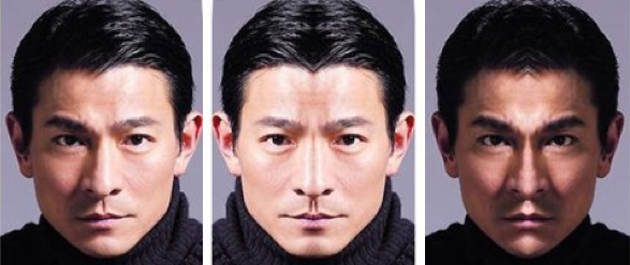 Andy Lau-simmetria facciale