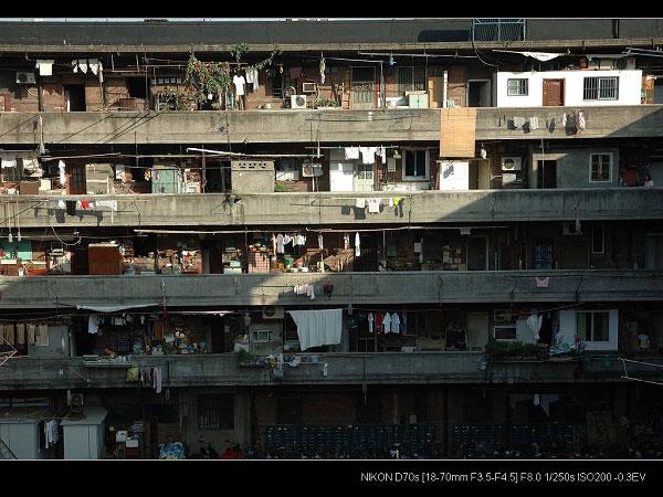 Longchang apartments in Shanghai