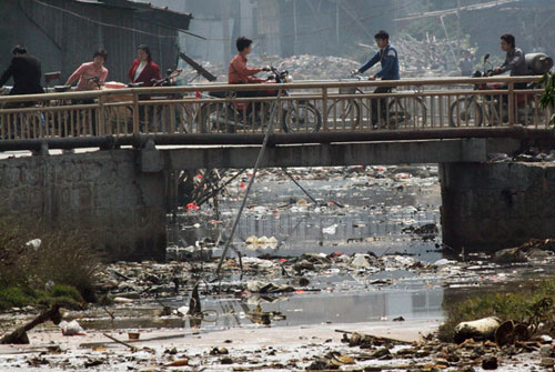 rifiuti elettronici in Cina