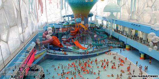 Watercube parco acquatico