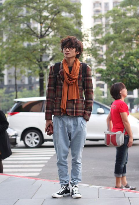 Street fashion Cinese