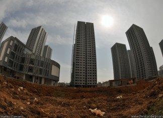 la città fantasma di Chenggong