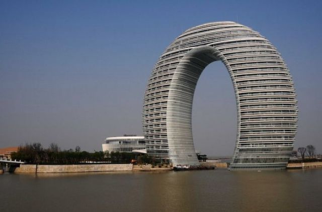 edifici bizzarri dalla Cina