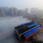 Changsha immersa nello smog