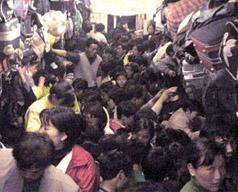 viaggiare in treno in Cina