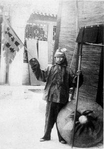 Un soldato boxer a Pechino-