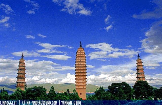 Le tre pagode di Dali
