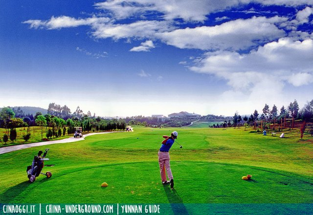 golf in Cina