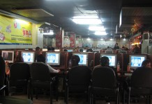 internet cafe in Cina - populismo in Cina