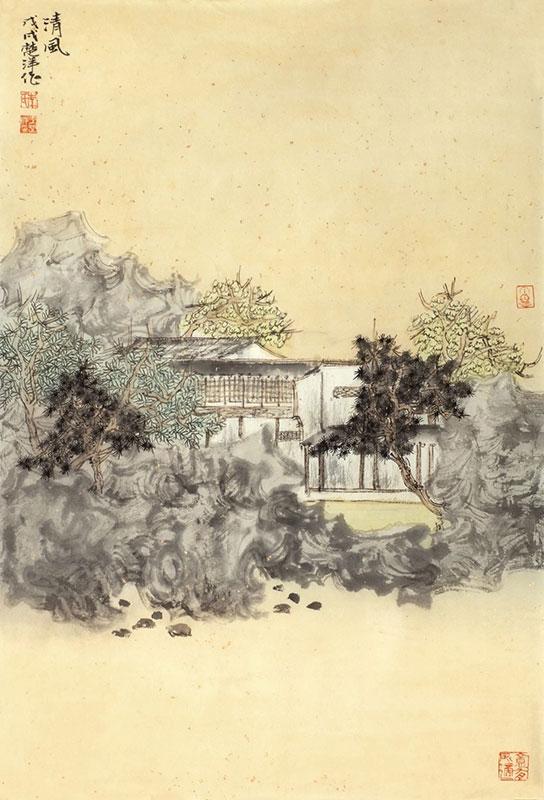 Percorsi pittorici tra Cina antica e contemporanea-Li-Chuyang