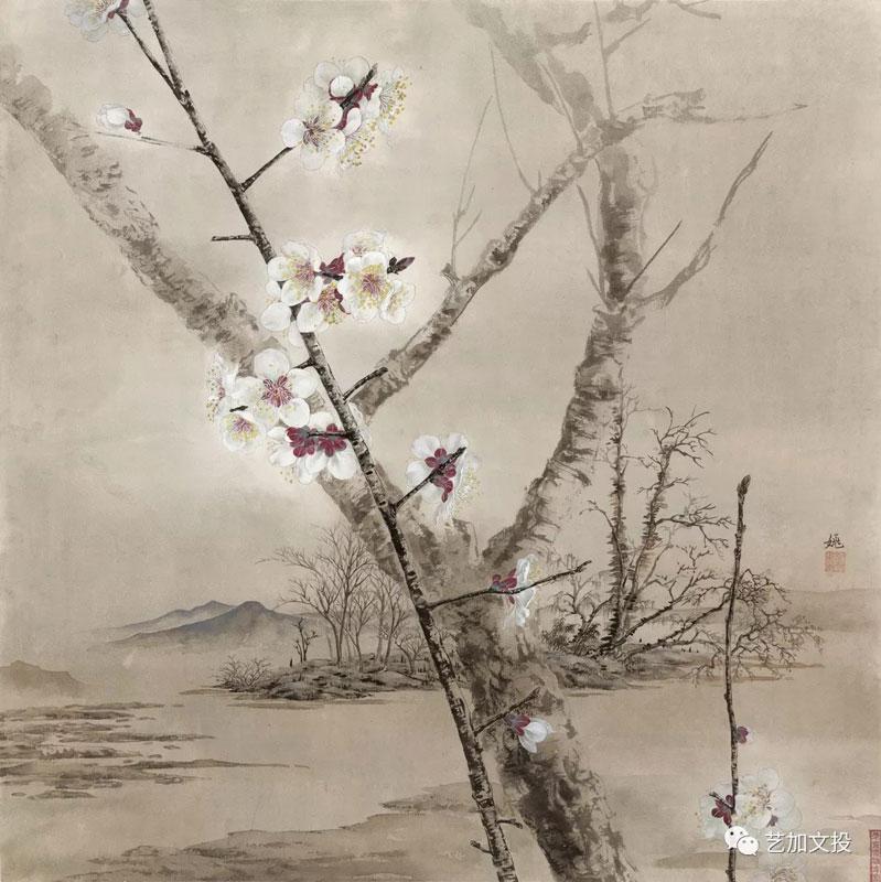 Percorsi pittorici tra Cina antica e contemporanea-Yao-Yuan