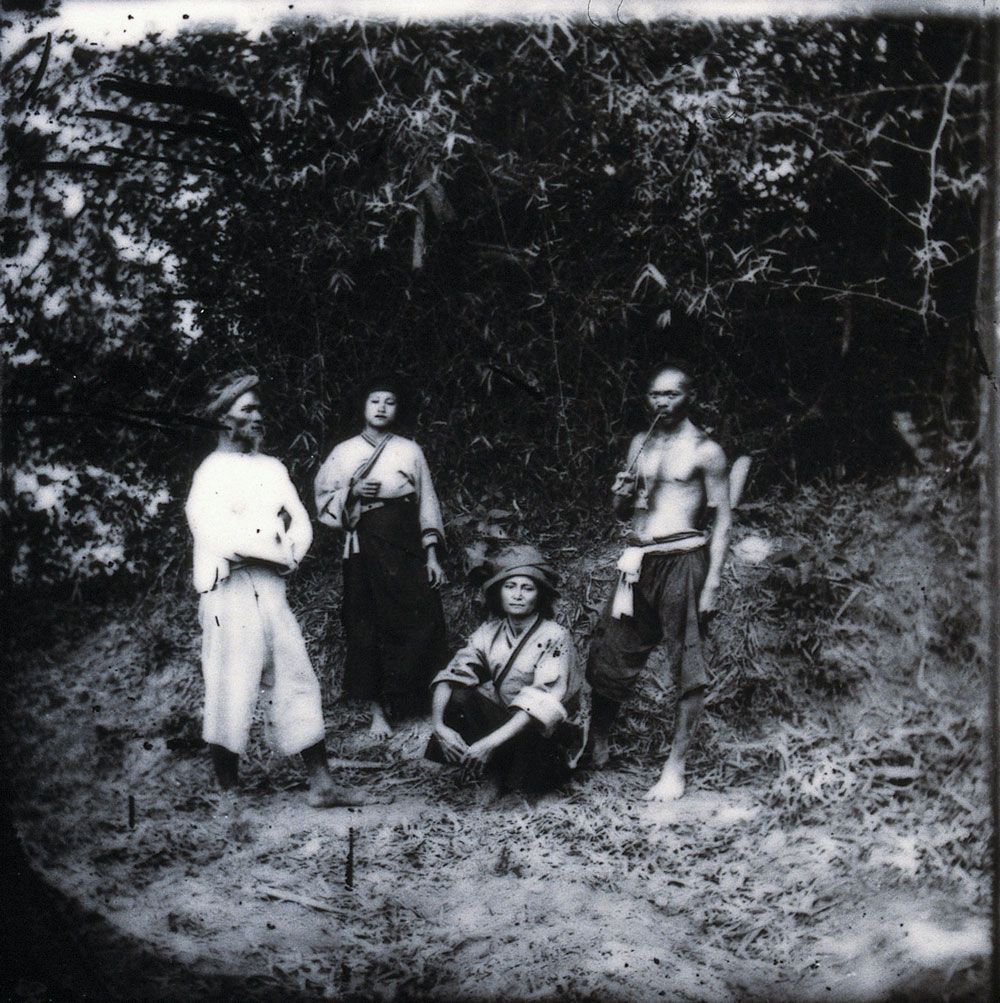 Baksa, Formosa [Taiwan]. Fotografia, 1981, da un negativo di John Thomson, 1871.