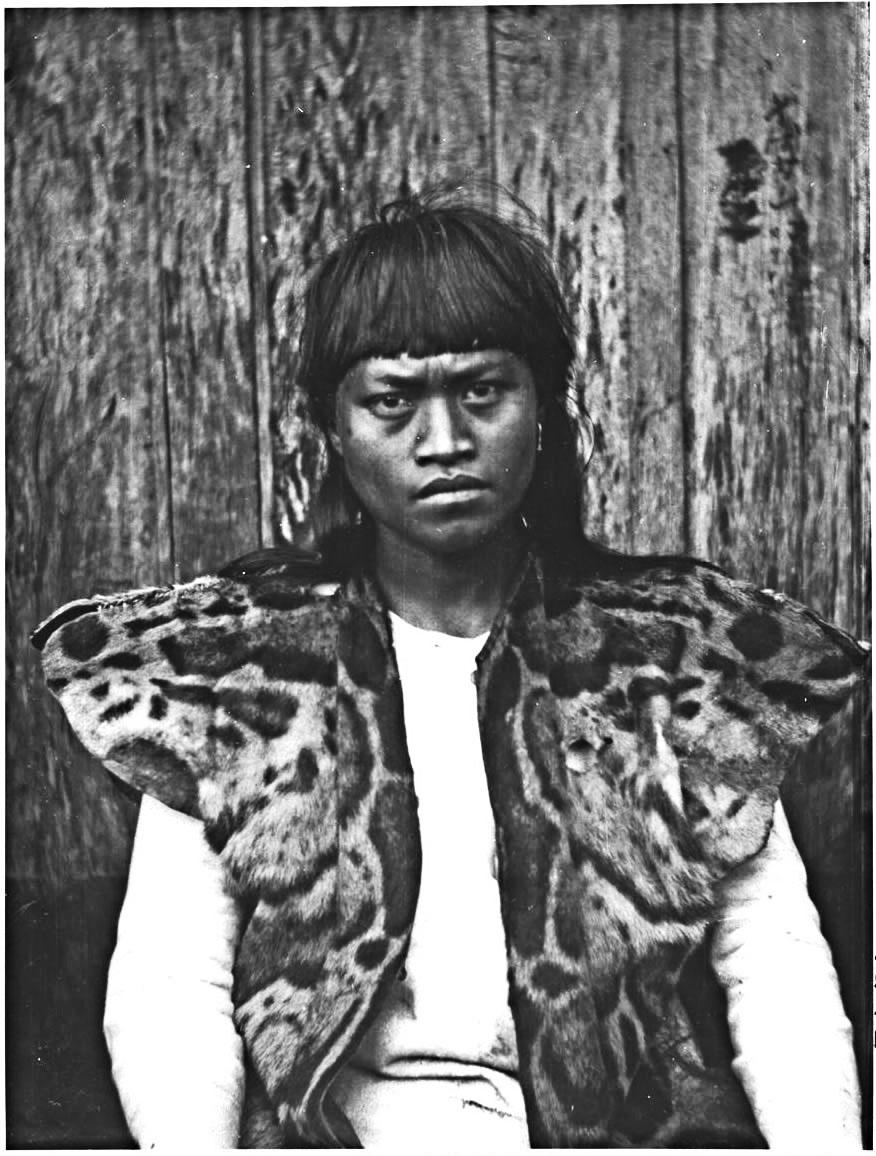 uomo aborigeno taiwanese