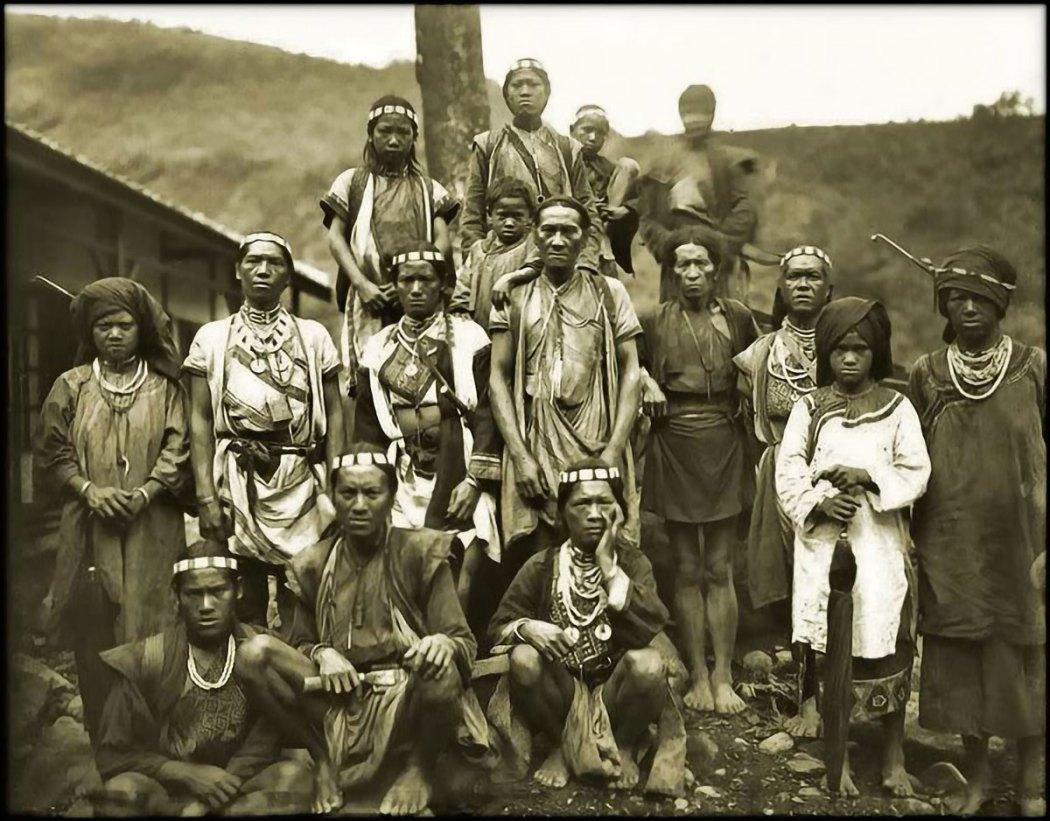 Aborigeni taiwanesi, Tribù Bunun, Formosa (c1900)