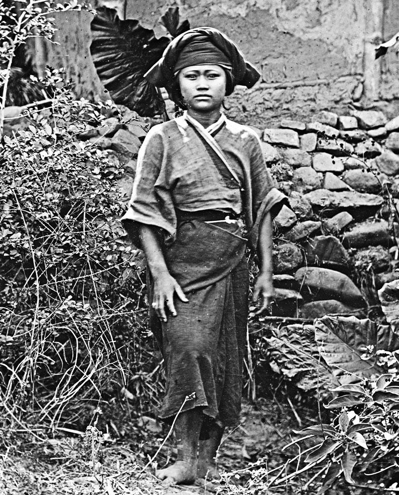 Gochi, una giovane Baksa,1871. J. Thomson_aborigeni_taiwanesi