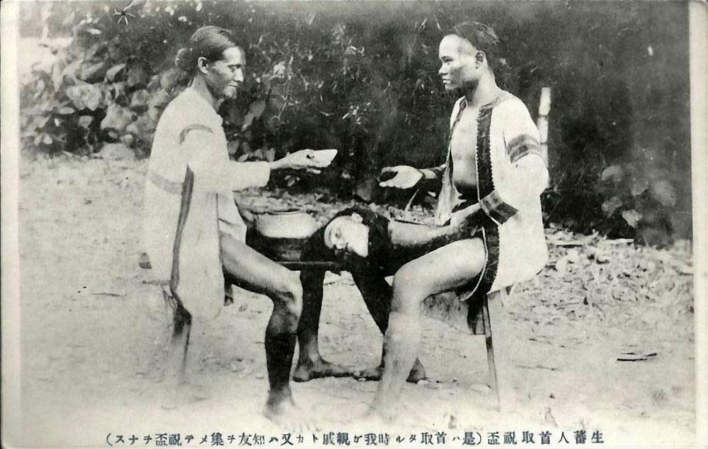Cacciatori di teste taiwanesi, prima del 1945