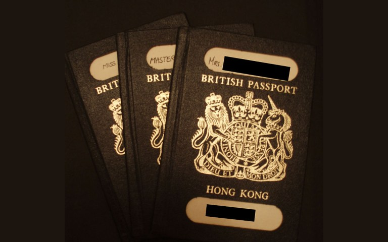 passaporto Britannico BNO