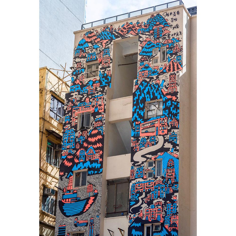 Fashion Designer Mural Artist Zoie Lam 2