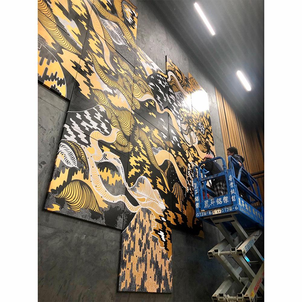 Fashion Designer Mural Artist Zoie Lam 6