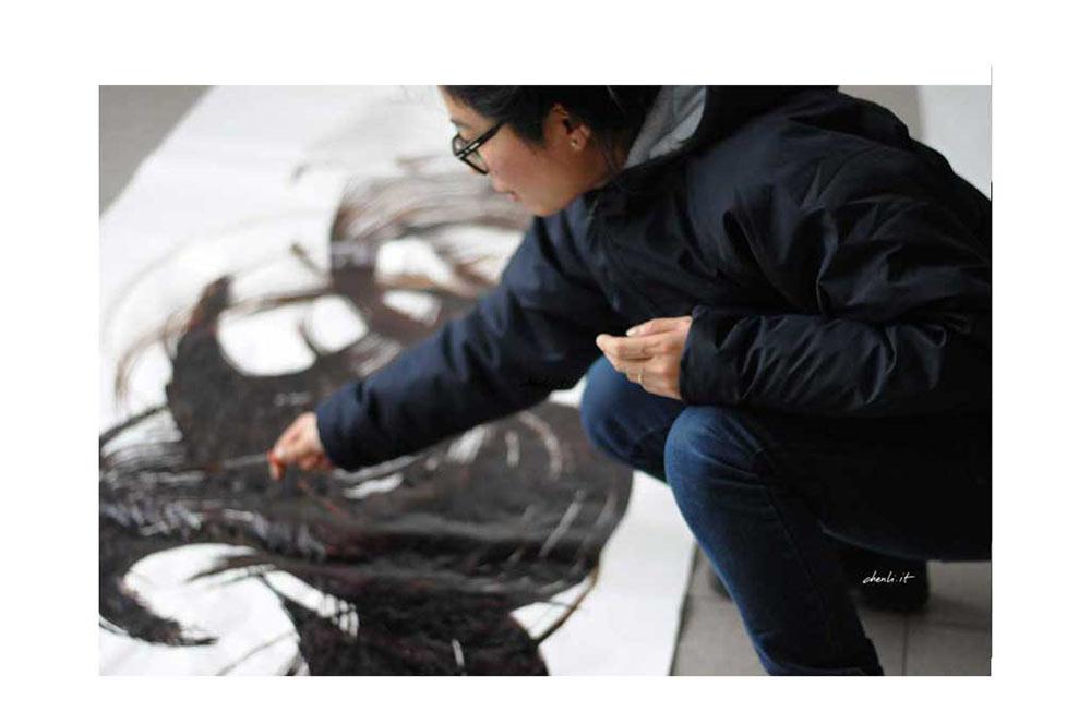 artist calligrapher Chen Li design 3