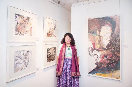 Intervista con l'Artista e Calligrafa Si Jie Loo
