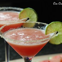 Fiesta Friday! Watermelon Margaritas and Agua Fresca [recipe]