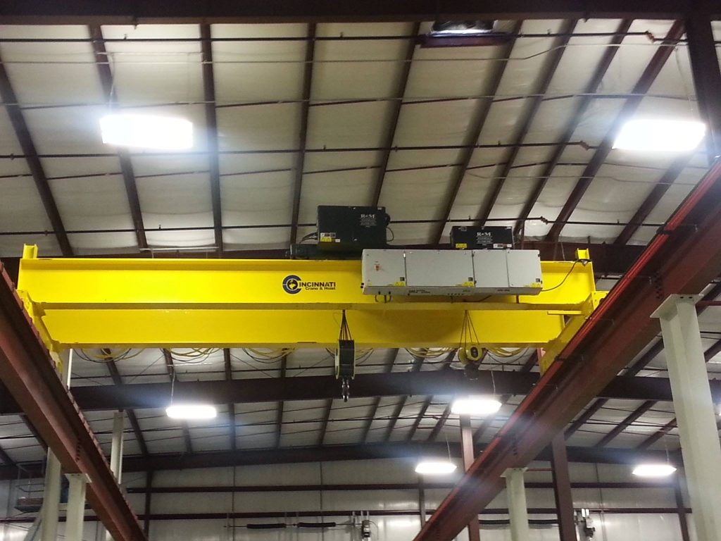 hight resolution of overhead cranes