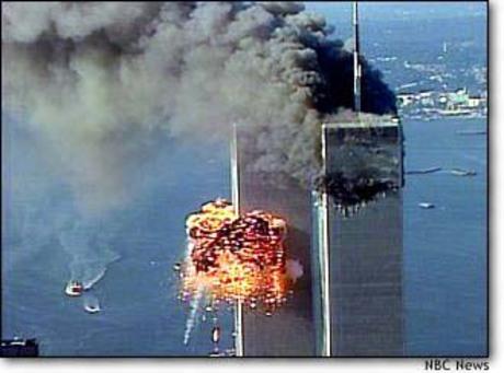 World Trade Center, New York, Sept. 11, 2001 (NBC News)
