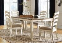 Realyn Chipped White 5PC. Dining Set | Cincinnati ...