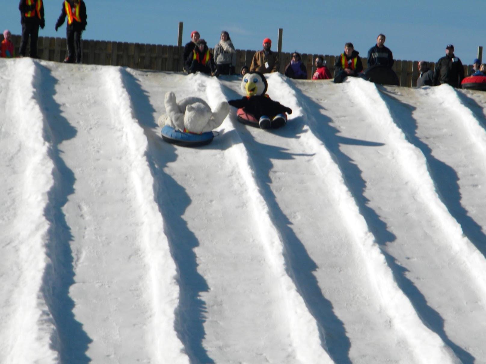 Snow Tubing Fun For The Whole Family At Beach Mountain