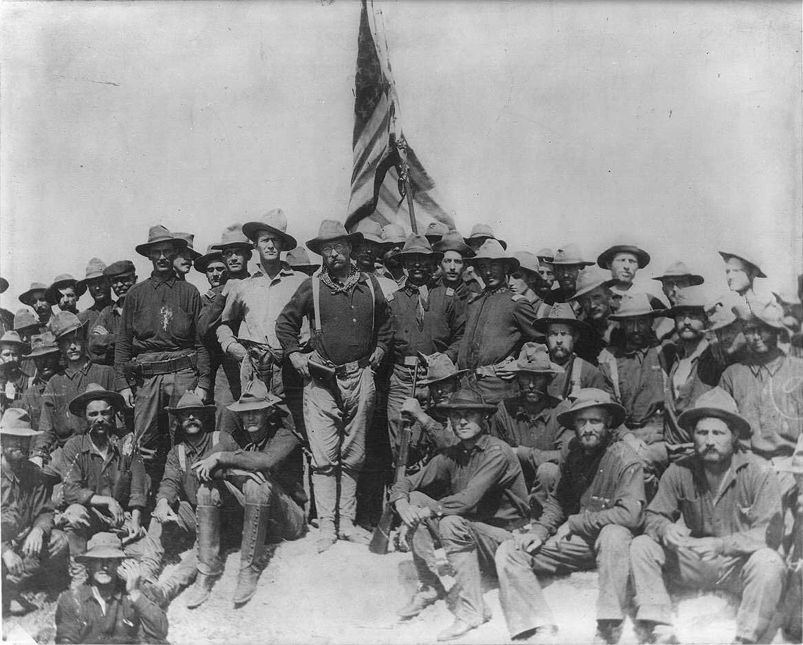 Manly Men Who Made America: Theodore Roosevelt