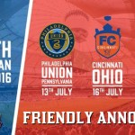 FC Cincinnati to face Crystal Palace in Friendly