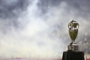 The Lamar Hunt US Open Cup trophy.