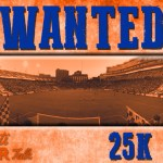 WANTED: #25k Rabid Fans to #ManTheWall