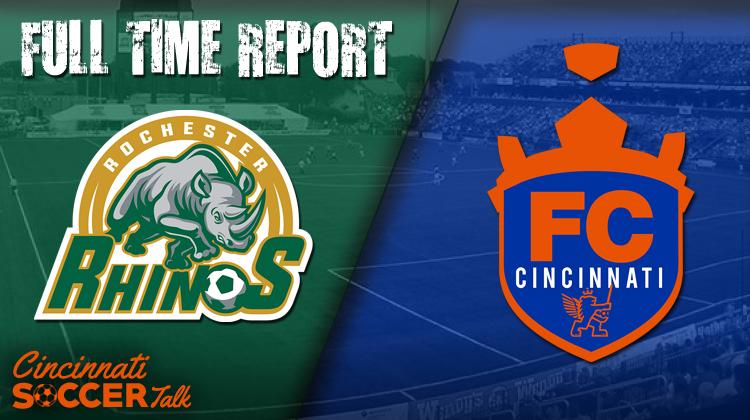 FC Cincinnati 1, Rochester Rhinos 2: Game Recap