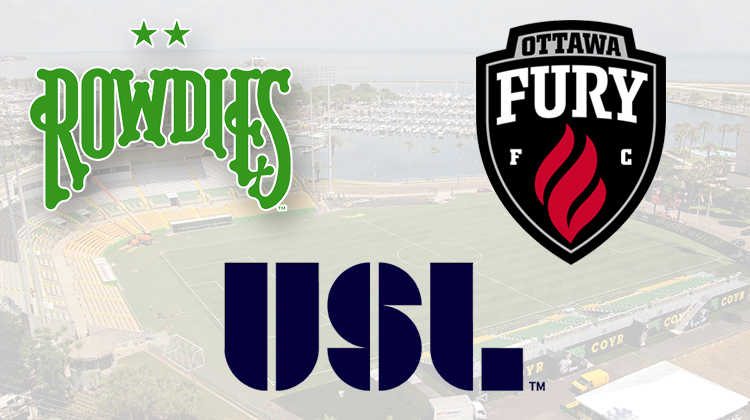 Tampa Bay Rowdies, Ottawa Fury, USL
