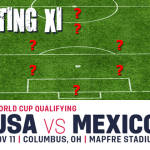 Projecting the USMNT Starting XI vs. Mexico