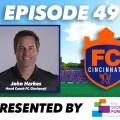 FC Cincinnati Head Coach John Harkes