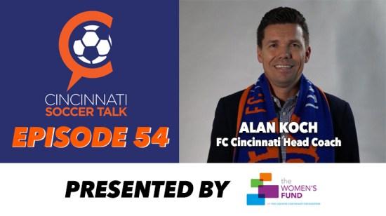 FC Cincinnati's Alan Koch