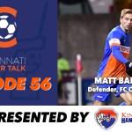 FC Cincinnati's Matt Bahner Visits CST
