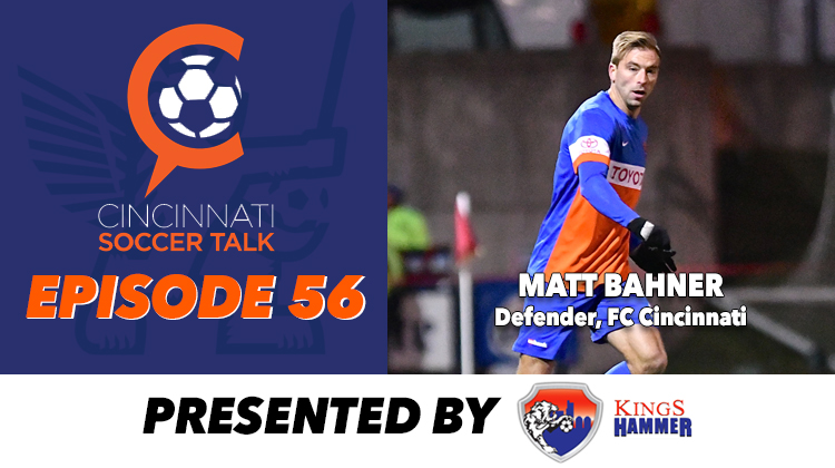 FC Cincinnati's Matt Bahner Visits with CST