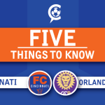 FC Cincinnati vs. Orlando City B: 5 Things to Know – Round 2