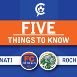 FC Cincinnati vs. Rochester Rhinos: 5 Things to Know
